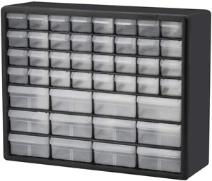 Hardware Craft Cabinet Mountable Stackable Drawers Storage Organizer Small Bins