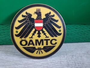 Vintage Austrian Automobile And Motorcycle Touring Club Car Badge