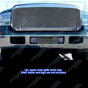 Fits 2005 2007 Ford F250 F350 F450 Sd Superduty Excursion Billet Grille