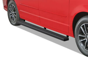 Iboard Running Boards 5 Inches Matte Black Fit 11 20 Dodge Grand Caravan