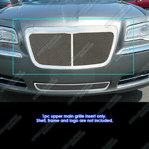Fits 2011 2014 Chrysler 300 300c Stainless Steel Mesh Grille Grill Insert