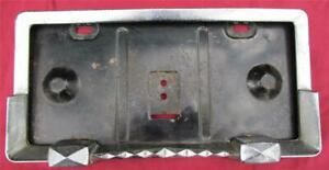 Nos 1940s 1950s 1960s Chevy Ford Buick Pontiac Lincoln License Plate Frame R2097