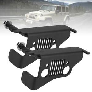 2pcs Car Gas Brake Foot Pedal Cover Stainless Pedal Pad For Jeep Wrangler 2018