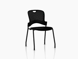 Authentic Herman Miller Caper Stacking Chair Design Within Reach