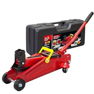 Big Red T820014s Torin Hydraulic Trolley Service Floor Jack With Blow Mold Ca
