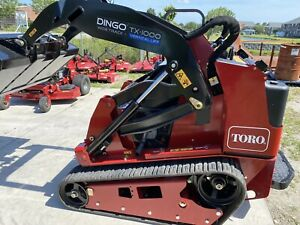 New 2019 Toro Dingo Tx1000 Compact Mini Skid Steer Crawler Loader