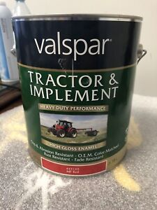 Valspar 4431 02 Mf Massey Ferguson Red Tractor And Implement Paint 1 Gallon