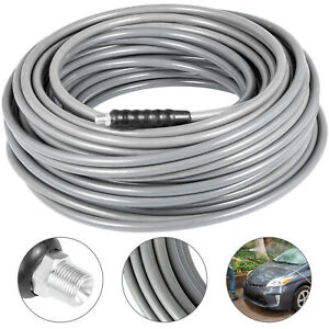 100 Grey 4500 Psi 3 8 Carpet Cleaning Solution Hose High Pressure Washer Hose