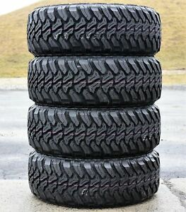 4 New Accelera M t 01 265 60r18 110s Mt Mud Tires