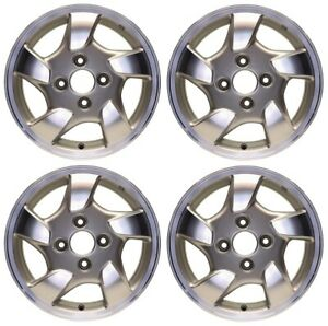 New Set Of 4 15 X 6 Replacement Wheel Rim For 1998 1999 2000 Honda Accord