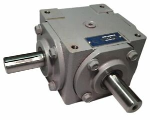 40 Hp Right Angle Bevel Gearbox With 2 Keyed Shafts Cw cw 1 1 19455 sr kw kw gr