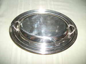 Wm A Rogers Oneida Covered Silver Casserole Vegetable Dish 912 Champlain
