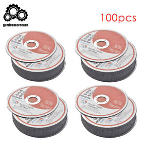 100 Pack 5 x0 040 x7 8 Cut off Wheel Metal Stainless Steel Cutting Discs