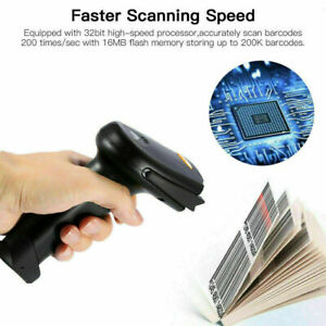 2 4g Wireless Bluetooth 4 0 Usb Laser Barcode Scanner Reader For Ios Android