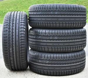 4 Tires Accelera Phi R 205 50r15 Zr 89w Xl A S High Performance All Season