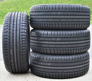 4 New Accelera Phi r 205 50r15 Zr 89w Xl A s High Performance All Season Tires