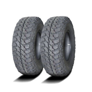 2 New Doublestar Wildtiger T01 Lt 245 70r17 114 110n D 8 Ply Mt Mud Tires