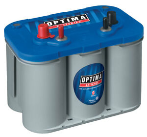 Optima D34m 8016 103 12 Volt Blue Top Starting And Deep Cycle Marine Battery