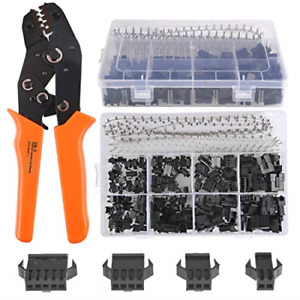 560pcs 2 54mm Pitch 3 Pin With Sn 2 Crimping Tools Dupont Jst Sm Male female Kit