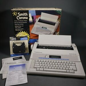 Vintage Smith Corona Wordsmith 250 Electronic Daisywheel Typewriter New W ribbon