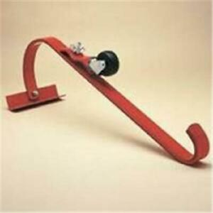 Heavy Duty Roof Ridge Ladder Hook With Roller
