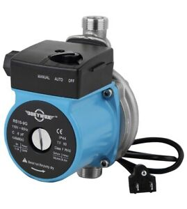 Okywox Booster Pump Rs15 9g 120w 115v 30l min New