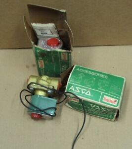 Lot 2 Asco Red hat Solenoid Air Operated 8210d95 2nc 110 50v 120 60 3 4