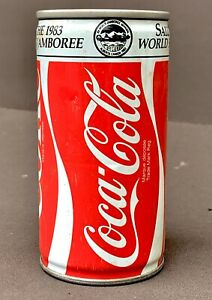 🔴 Red 1970's-80's Vintage Steel Coca Cola, Set of Two, Rare