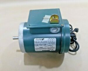 Reliance Electric Motor 1 3 Hp 115 230v 3450 Rpm 56c W Cord On off Switch