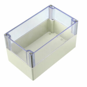 200 X120 X113mm Electronic Abs Plastic Junction Box Enclosure Case W Clear Cover