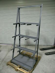 Durham Vertical Storage Rack 3 bay 3000 Lb Capacity 84 X 36 X 24 Steel Gray