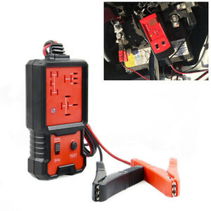 4pin 5pin Electric Automotive Relay Tester For Car Battery Checker Tool Detector