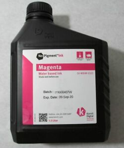 New 1 5l Kornit Neopigment Water Based Textile Fabric Printing Ink Magenta