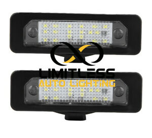 2x Led License Plate Replacement Light For 2010 Ford Mustang Focus Fusion Taurus