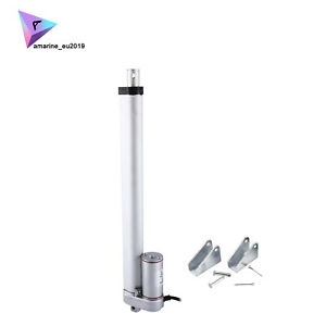 New 12 Inch Stroke Linear Actuator 900n 225lbs Pound Max Lift 12v Volt Dc Motor