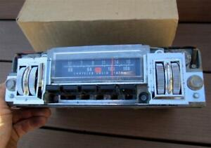 69 70 Mopar B Body Am Fm Radio Factory Option Charger Road Runner Gtx Super Bee
