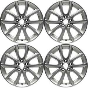 New Set Of 4 16 X 6 5 Wheel Rim For 2012 2013 2014 2015 2016 Subaru Impreza