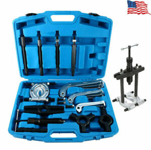 10 Ton Hydraulic Gear Jaw Puller Bearing Separator Puller Set Kit For 4 6 8 Us