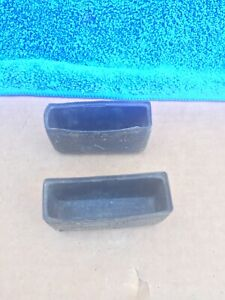 1967 1968 Mustang Cougar Console Seat Belt Cups