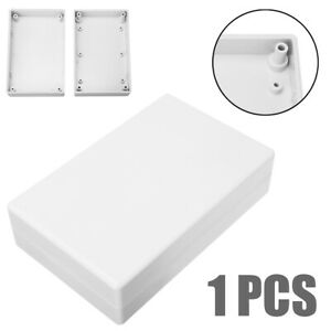 Waterproof Plastic Cover Project Electronic Case Enclosure Box 125x80x32mm White