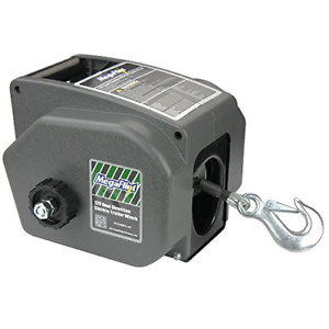 Megaflint Trailer Winch reversible Electric Winch For Boats Up To 6000 Lbs 12v