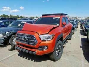 Bumper Reinforcement Bar Only Fits 16 17 18 19 Toyota Tacoma Oem