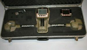 Ditch Witch 8500tk Electronic Guidance Tracker System 8500 Hdd Display 8500d