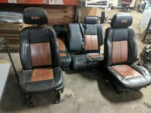 Driver Front Seat Bucket Electric Leather Fits 06 10 Hummer H3 224076