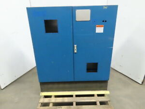 46x46x14 Free Standing 2 Door Electrical Enclosure Cabinet W Back Plate