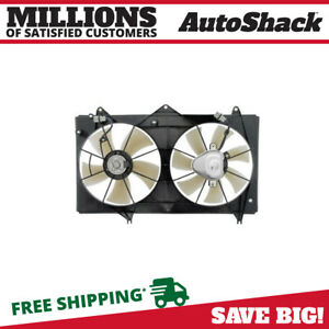 Electric Dual Cooling Fan Assembly For 2002 2003 2004 2005 2006 Toyota Camry