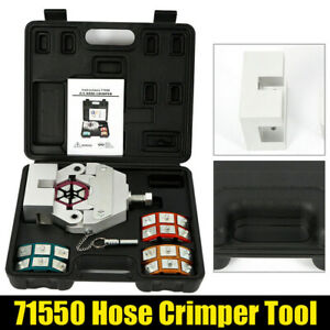 Mastercool 71550 A C Hose Crimper Tool Kit Fast Shipping Brand New