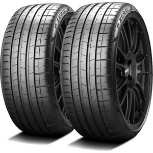 2 Pirelli P Zero Pz4 245 45r20 103w Xl Performance Run Flat Tires