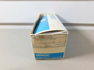 Omron Photoelectric Switch Nos E3s x3ce4 12 To 24 Voc 2m Lot 0947c
