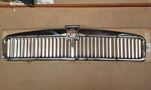 Chrome Finish Mgb Grille 62 70 Mgc 67 69 Arh218z